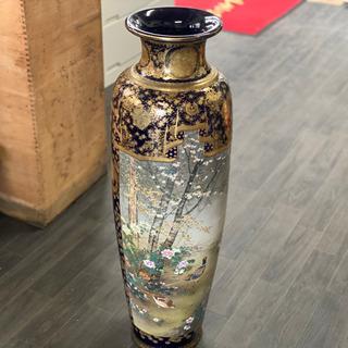 錦光山 京薩摩 大花瓶