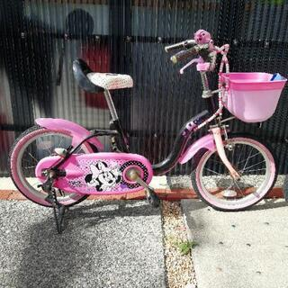 ミニー 自転車 値下げ中