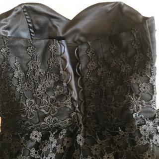 【美品】黒ドレス 結婚式、二次会など