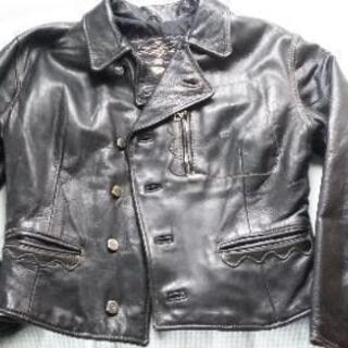 ディーゼル革ジャケット