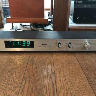 【現状品】ナショナル オーディオタイマー TE932 - つくば市