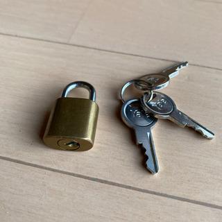 Yale 南京錠 極小 鍵3個付き パッドロック