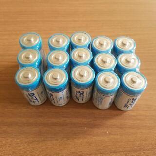 【ネット決済】単2アルカリ乾電池 15本