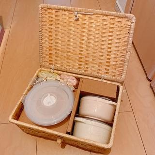 【ネット決済】陶器とミニタオルセット   未使用