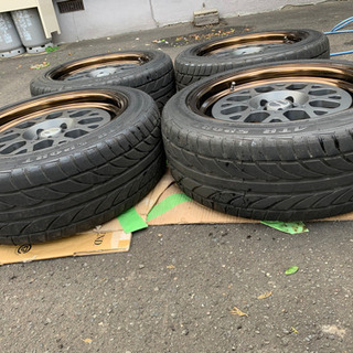 シーカー!!WORK SEEKER GX タイヤほぼ新品!!