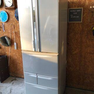 C2212  東芝 6ドア冷蔵庫 2011年 426L 自動製氷機付き