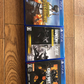 ps4 人気ゲームカセット 3点セット