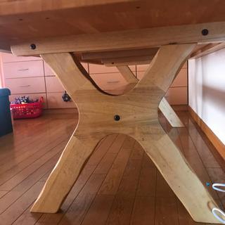 長いダイニングテーブル (受け渡し調整中です) − 愛知県