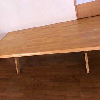 長いダイニングテーブル (受け渡し調整中です) - 一宮市