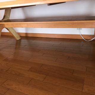 長いダイニングテーブル (受け渡し調整中です) - 家具