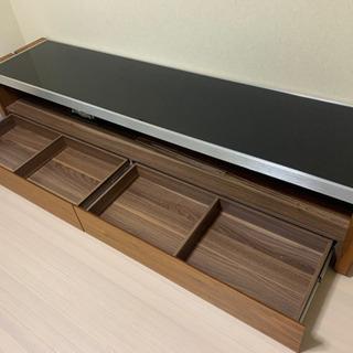 テレビボード ガラス製 木製 高級 おしゃれ 180㌢✨ - 江南市