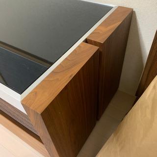 テレビボード ガラス製 木製 高級 おしゃれ 180㌢✨ - 家具