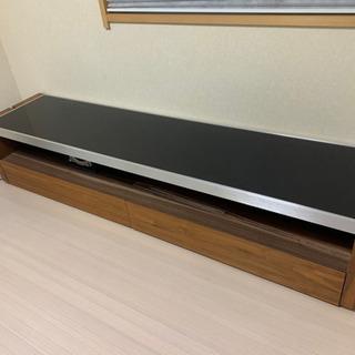 テレビボード ガラス製 木製 高級 おしゃれ 180㌢✨