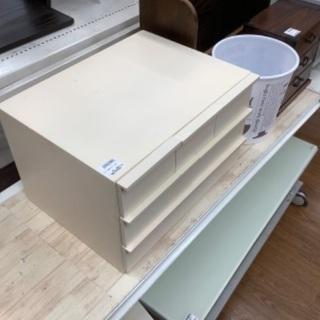 【トレファク南浦和】 チェスト 3段 ホワイト