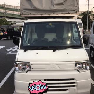三菱幌バン宅配業者用バン