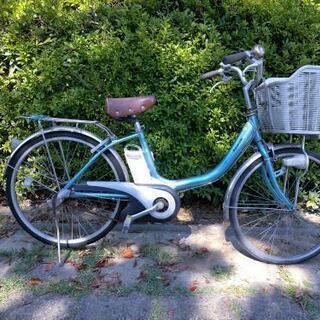 【ネット決済・配送可】Panasonic電動アシスト自転車