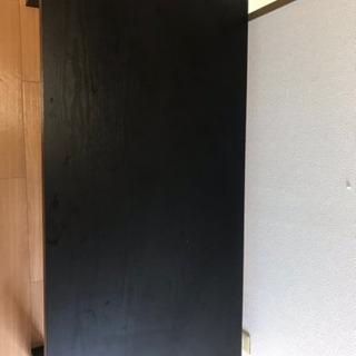 (ニトリ)ローテーブル【ブラック】