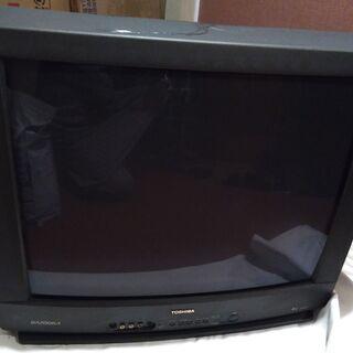 ブラウン管 テレビ 25型 東芝 BAZOOKA 25BS77 ...