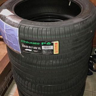 タイヤ 新品未使用 ピレリP6 205/50R17 93V XL...