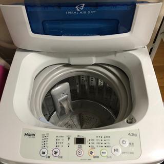 【決まりました!】全自動電気洗濯機  Haier(ハイアール) ...