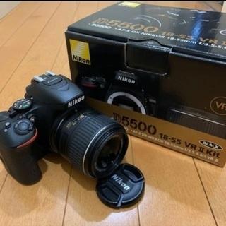 Nikon D5500 18-55 VR2 レンズキットBLACK