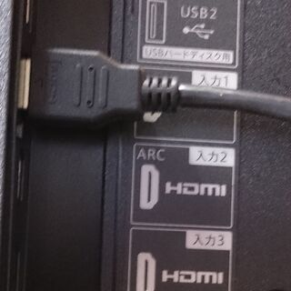 ☆値下げしました!【中古】シャープ AQUOS 4K液晶テレビ 50型+BDレコーダーセット   - 家電