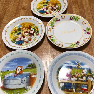 ラスカル皿 5枚セット 非売品です