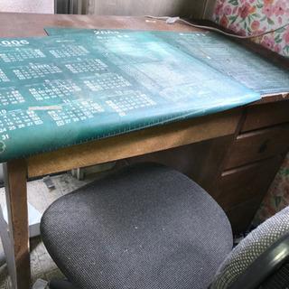 机 椅子セット