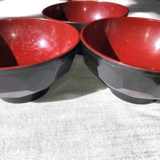 食器 汁椀(味噌汁など)3個セット 中古品 - 生活雑貨