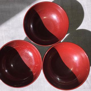 食器 汁椀(味噌汁など)3個セット 中古品