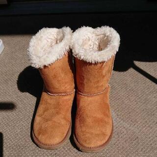女の子 ムートン ブーツ 21.0センチ 美品