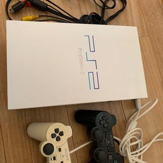 ジャンク品 PlayStation2本体+ソフトなどなど