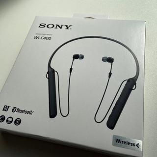 SONY ワイヤレスステレオヘッドセット WI-C400