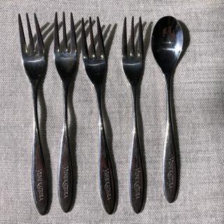食器 ティータイム用スプーン フォークセット 中古 - 生活雑貨