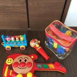 アンパマンギターとアンパマンマイク その他おもちゃ