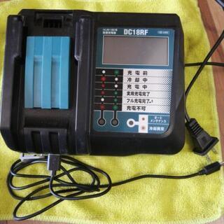 マキタバッテリー18V6A+マキタ互換充電器