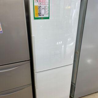 ★155 シャープ 2ドア冷蔵庫 271L 2017年製【…