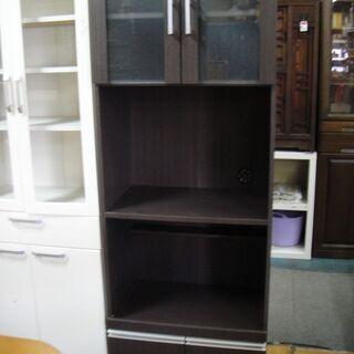 2ドア キッチンボード レンジボード 食器棚 キッチン収納…
