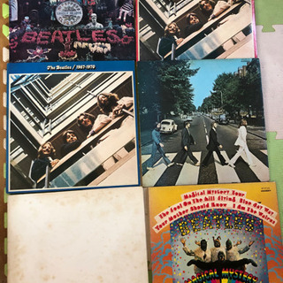 The Beatles LPレコード 6枚
