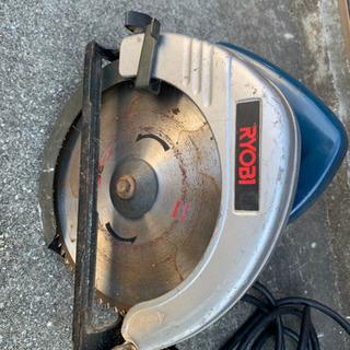 RYOBI電気丸ノコ、ブレーキ付き