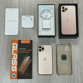 【ネット決済・配送可】iPhone 11 Pro ゴールド 25...