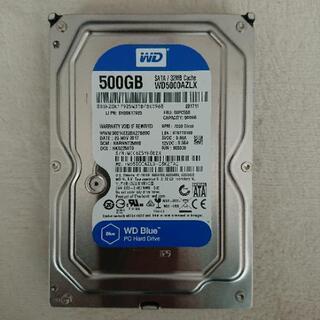 ハードディスク 500GB 新古品