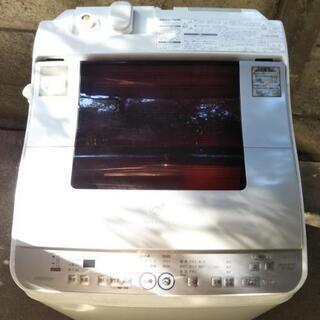 シャープ☆洗濯乾燥機 ES-TG55G 動作確認済み 簡易乾燥機...