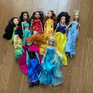 ディズニー プリンセス 8体セット バービー