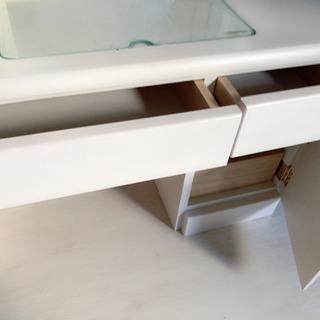 三面鏡ドレッサー 座卓(椅子なし) ロータイプ  鏡台 - 家具