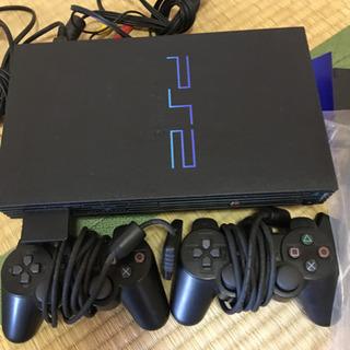 *取引中*中古PS2とテレビ台(TV台)の画像