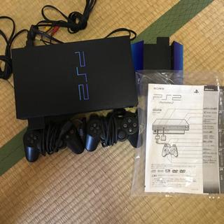 *取引中*中古PS2とテレビ台(TV台) - 大阪市