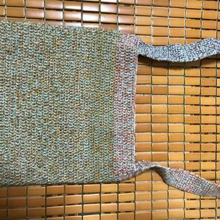 手作り編みバック 2点