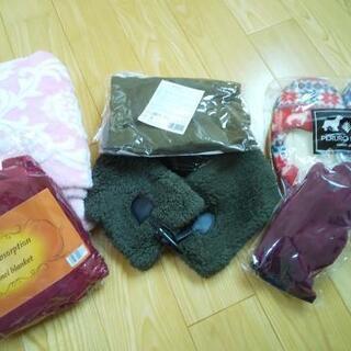【新品未使用】冬の必需品モコモコセット! モコモコブランケット ...