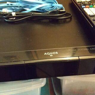 ブルーレイディスクレコーダー シャープ製 難有り ※再値下げしました。